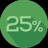 25-percent